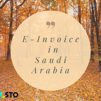 Starting on December 4, 2021, E-InvoiceinSaudi Arabia will be phased in