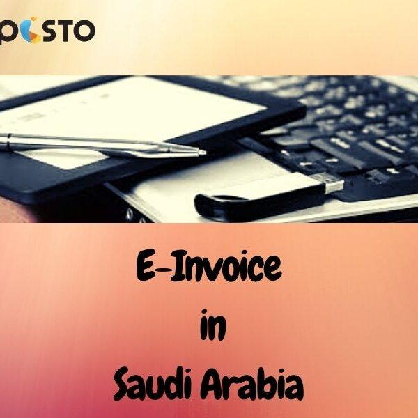 E-InvoiceinSaudi Arabia Perspectives : Technology and Regulation