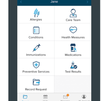 Cloudpital Patient Portal