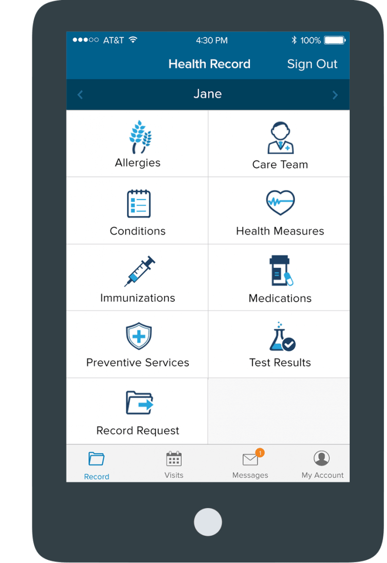 Cloudpital Patient Portal