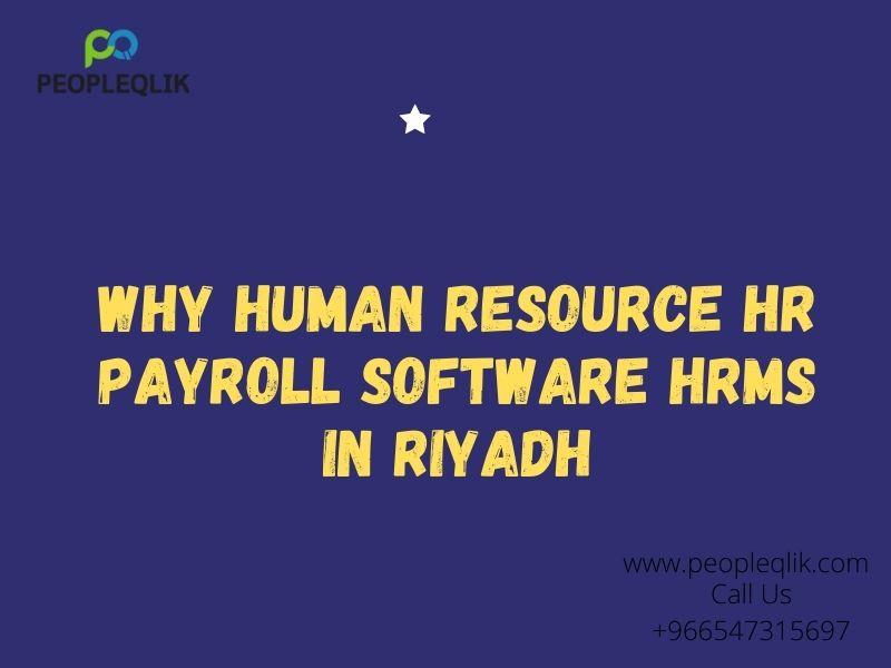 HRMS in Riyadh